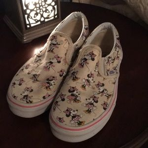 Disney Limited Youth Van Collection Slip Ons